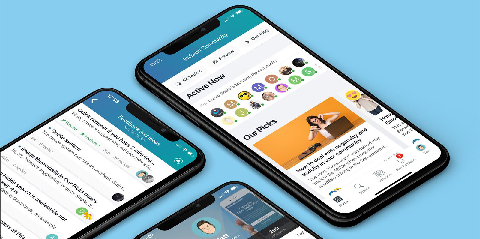 invision community mobili aplikacija